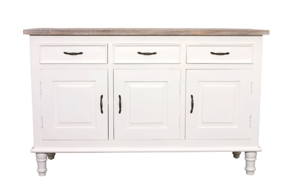 Fowey Large Sideboard - White